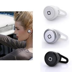 AomeTech Bluetooth Headset, White - $10