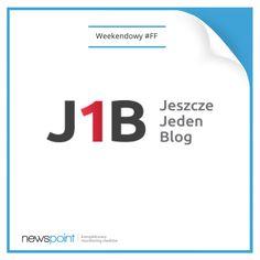 Kontynuujemy zwyczaj weekendowej rekomendacji #FF i polecamy blog Artura Jabłońskiego Jeszcze Jeden Blog. Owocnej lektury i spokojnego weekendu! :-) www.jeszczejedenblog.pl