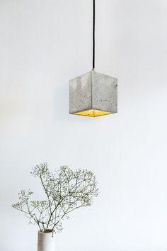 Beton Lampe Hängelampe Design Leuchte [B1] GANT By Stefan Gant - GANT lights, on Designeros.com $200.00 #designeros #ConcreteLamp