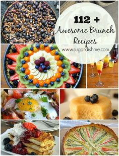 112 Awesome Brunch Recipes - Sugar Dish Me