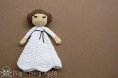 Rebel Princess Crochet Lovey  Star Wars Leia by PlayinHookyDesigns, $30.00