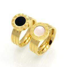 Roman Numeral Famous Rings