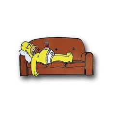 Lazy Homer pin from @trophycultureco  Pinning is hard work, relax… #homer #thesimpsons #simpsons #illustrator #illustration #design #designer #art #artist #graphicart #graphicartist #graphicdesign...