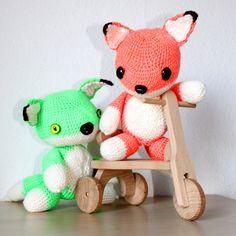 Fox Free Amigurumi Pattern http://crochet-andrea.tumblr.com/post/77615901296/free-fox-pattern Thanks so for sharing xox
