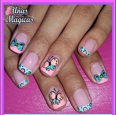 Beautiful Nail Art, Nail Arts, Nail Art Designs, Nails, Amanda, Personality, Beauty, Mini, Work Nails