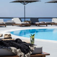 Truth be told, we all need a refreshing memory of mojitos cheers by the pool. at My Mykonos. Mykonos Hotels, Summer Is Here, Greek Islands, Cheers, Summertime, Coastal, Boutique, Outdoor Decor, Greek Isles