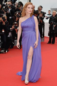 Elie Saab - Style Crush: Jessica Chastain on the Red Carpet - Photos