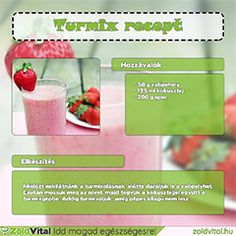 Eper smoothie Smoothies, Minden, Vegetables, Drinks, Healthy, Food, Kitchen, Drinking, Cooking