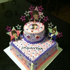 Justin Bieber Birthday cake,  Fancy-cakes by Carla