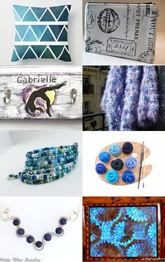 Blues by Shannon on Etsy--Pinned with TreasuryPin.com