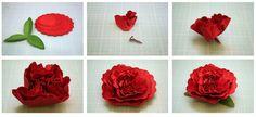 hacer flores con papel decorar
