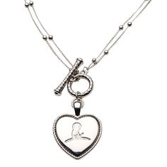 Heart Necklace -St. Jude Childrens Research Hospital - Click the link to purchase or find ways to help. One of my all time favorite organizations.