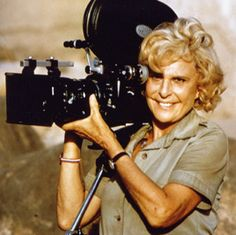 Leni Riefenstahl - I must point out that I did not agree with her nazi sympathies, that goes without saying. I merely admire her work and her unbelievable energy.