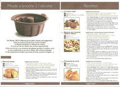 Fiche recette Moule à brioche - Tupperware : brioche rapide, choco poire, brioche aux tomates cerises et pistou, couronne de lotte.