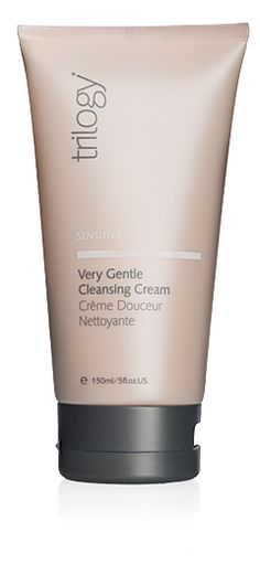 Very Gentle Cleansing Cream | Trilogy - Soothe and protect the weakened skin barrier and care for easily irritated skin with our most gentle cleanser. Thoroughly removes impurities and make-up (including eye make-up) to leave skin feeling soft, soothed and beautifully refreshed. Fragrance free, essential oil free and dermatologically tested.