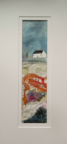 'Ard beg Cottage' By Louise O'Hara of DrawntoStitch https://www.facebook.com/DrawntoStitch