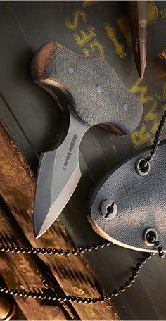 Winkler Knives WKII Push Dagger Fixed Blade Knife Maple
