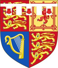 Arms of Prince Henry of Wales.  The five tabs denote a younger son of the Prince of Wales here.