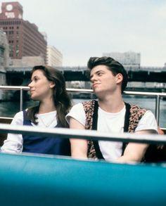 Ferris: Smile, babe. Just smile... (Ferris Bueller´s Day Off)