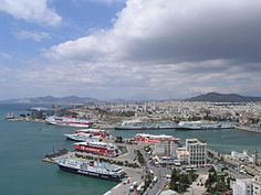 the ferry from Piraeus to . . .