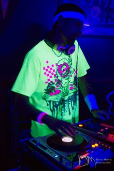 DJ Segal Black Light Dance Party with 219 Productions of Northwest Indiana