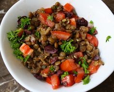 2 Sides to Every Story: Lentil Salad with Fennel & Kalamata Olives