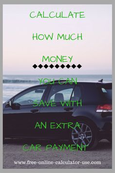 Early Car Payoff Calculator >> 97 Best Auto Calculators Images In 2019 Best Money Saving