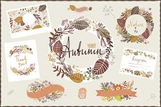 Check out Autumn graphics by Darish on Creative Market