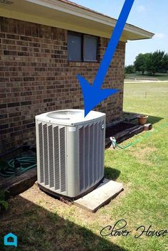 You won't believe she (he) did this on such a tight budget! Hide your air conditioner in plain sight!