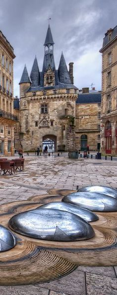 22 Places You Must See in France Places to travel 2019 Porte Cailhau, Bordeaux, France Places Around The World, Travel Around The World, Around The Worlds, Places To Travel, Places To See, Travel Destinations, Travel Tips, Belle France, Voyage Europe