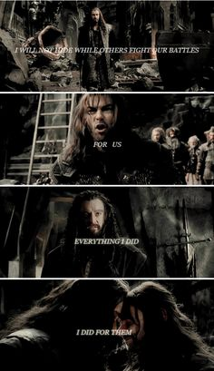 If you think this has a happy ending, you haven't been paying attention. #thehobbit
