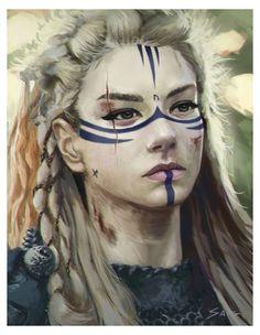 Elf Makeup, Cosplay Makeup, Halloween Face Makeup, Character Design Inspiration, Makeup Inspiration, American Beauty Standards, Viking Makeup, Warrior Makeup, Elf Face