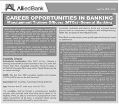Allied Bank Jobs 2021 Online Apply Overseas Jobs, Government Jobs In Pakistan, Army Jobs, Latest Jobs In Pakistan, Newspaper Jobs, Job Advertisement, Banking Services, Bank Jobs