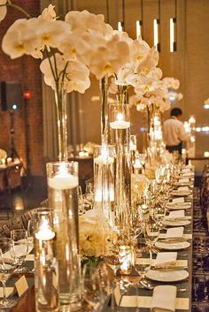 24 Ways To Transform Your Reception Space ❤ See more: http://www.weddingforward.com/wedding-reception-space/ #weddings #decoration