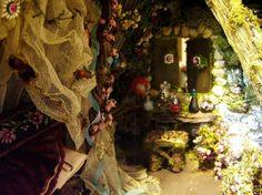 fairy house interior from etsy