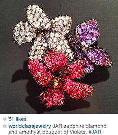 Jewels by JAR #jarparis #jar #joelarthurrosenthal #jewelsbyjar #jarjewelry #jarjewels