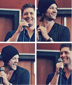 Jensen and Jared convention panel #VanCon2013