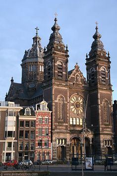 Roman Catholic Cathedral dedicated to memory of Saint Nicolas. Amsterdam,Netherlands
