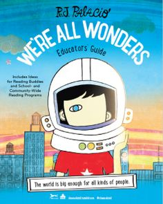 Todos somos únicos / We're all Wonders (Spanish Edition) Wonder Novel, Wonder Book, Entertainment Weekly, 2nd Grade Reading, Anti Bullying, School Counseling, Book Themes, Writing A Book, Special Education