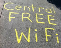 Gotta love free wifi. It's available in #PalmerstonNorth City, #Feilding and Kimbolton..  #wifi #internet #blog from manawatunz.co.nz