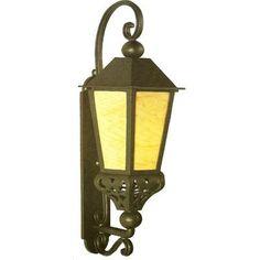 Melissa Tuscany 1 Light Outdoor Wall Lantern Finish: Black