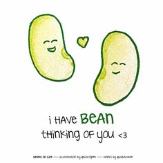 #WordsOfLife is me and @iqbalhape listening to life creatures telling us many things.  This is how BEAN being sweet. :3 This is #WordsOfLife  #art #illustration #plant #bean  #pencil #green #pun #quote #creative #sweet #biology #punsworld