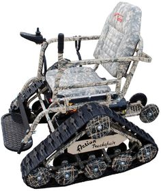 This is awesome! If you or someone you know is now disabled, but loved to hunt or even just be outdoors - this is for them!