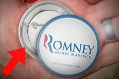 hehehe the irony, how it hurts! Even his buttons are made in China!