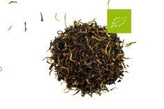 Golden Yunnan. Pour un thé de Chine, cette variété du Yunnan est particulièrement subtile et harmonieuse.