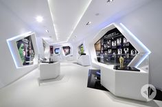 Unique Display Cases for the FIFA - Soccer oasis in a desert state | danpearlman