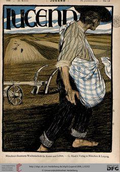 Jugend: Münchner illustrierte Wochenschrift für Kunst und Leben (4.1899, Band 1 (Nr. 1-26)) (G 5442-10 Folio RES)