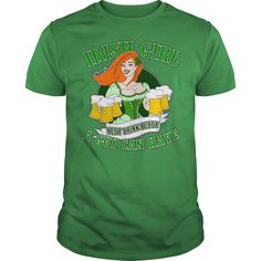 IRISH GIRL BEST DRINK BUDDY A GUY CAN HAVE