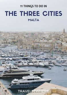 Across the Grand Harbour of Malta from Valletta lies the historic Three Cities of Senglea, Birgu and Cospicua. These neighbourhoods hold many culture and historical attractions, via @travelsewhere