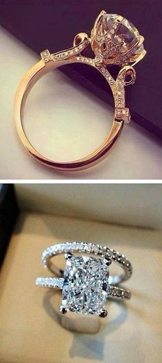 diamond rings | LBV ♥✤ | KeepSmiling | BeStayElegant
